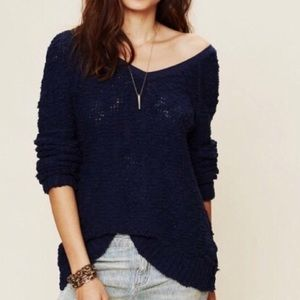 Free People Songbird Sheer Sweater